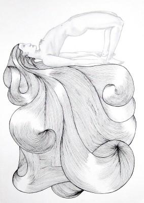 Hair Piece 4_yoga